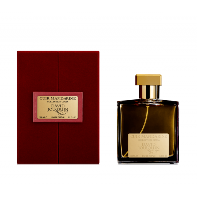 David Jourquin Opera Collection Cuir Mandarine