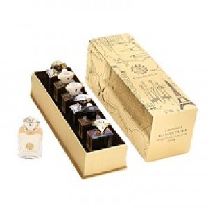 Amouage Miniature Classic Collection Man Set contains six 7.5ml bottles(Gold,Dia,Silver,Reflection,Jubilation XXV,Beloved.)