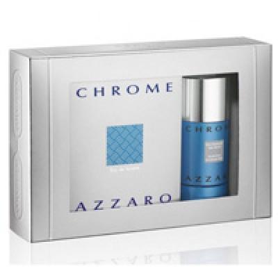Azzaro chrome set(50ml+75 ml stick)