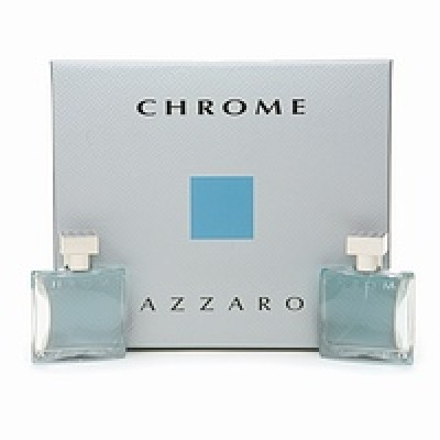 Azzaro chrome set(100ml+100 a/s+mini)