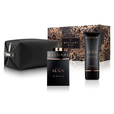 Bvlgari Man In Black Set (100ml edp + 100ml A/sh в косм)