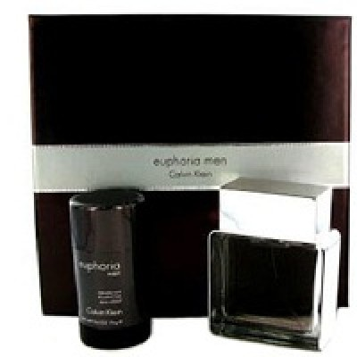 CK Euphoria Men set (100ml+75 stick)