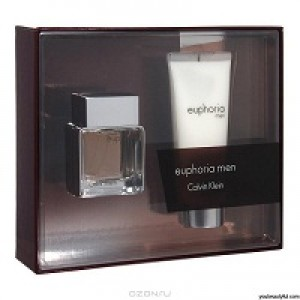 Calvin Klein Euphoria Men set (edt 50ml+100ml g/d
