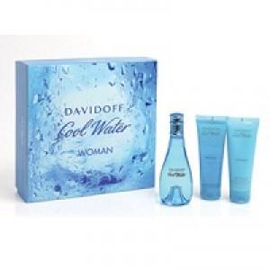 Davidoff Cool Water Woman set (edt 50ml+body lotion 50ml+shower