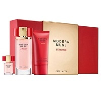 Estee Lauder Modern Muse Le Rouge set(50ml+75 b/l+4ml mini)