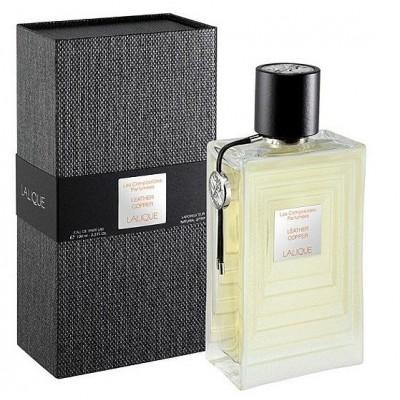 Lalique Les Copositions Parfumes Leather Copper