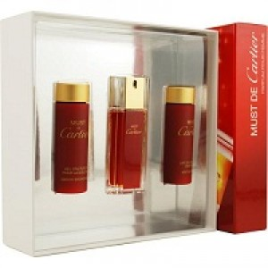 Must De Cartier set(100ml+30g soap+30ml oil+2*28 tablett)