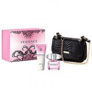 Versace Bright Crystal set(90ml+100b/l+косметичка)