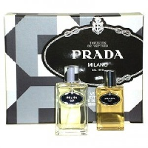 Prada Infusion D'Vetiver set(100ml+100 a/s)